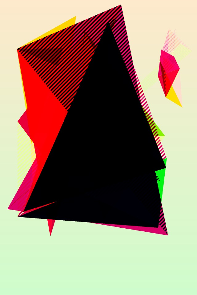 scnclr vibrant triangles